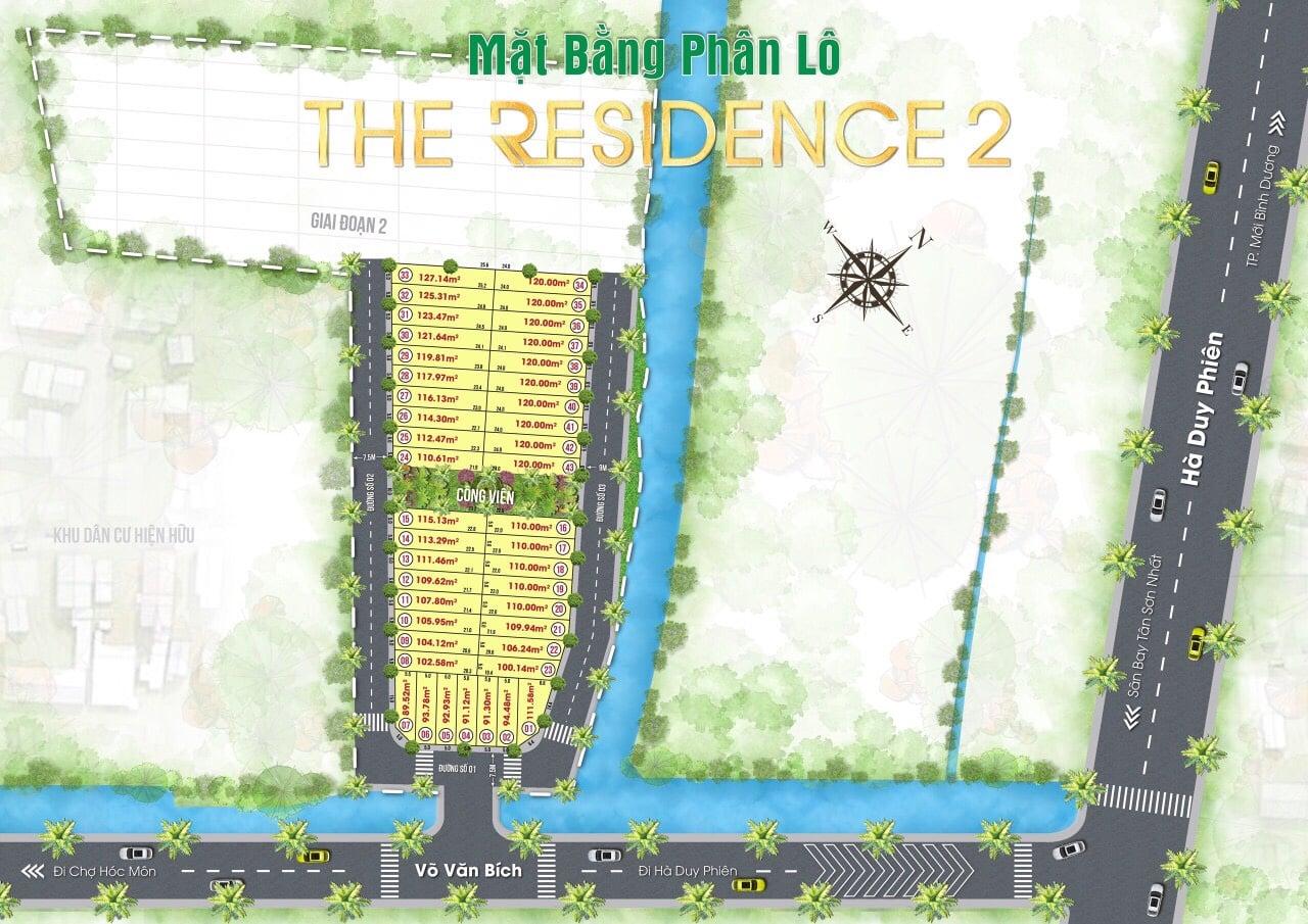 phân lô the residence 2