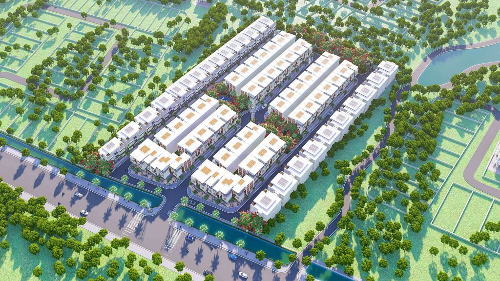 Image result for khu đô thị phối cảnh