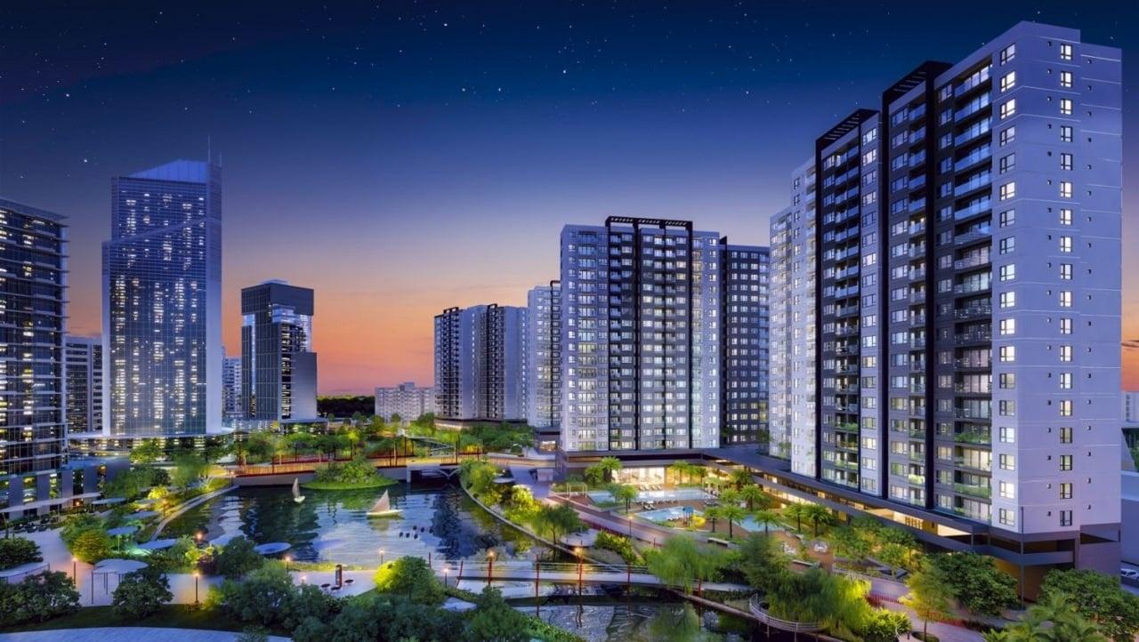 phoi canh akari city