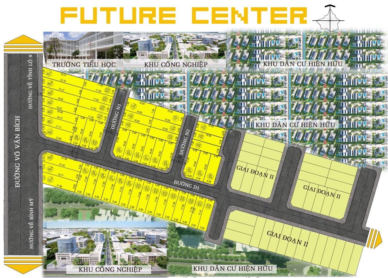 phân lô future center Củ Chi
