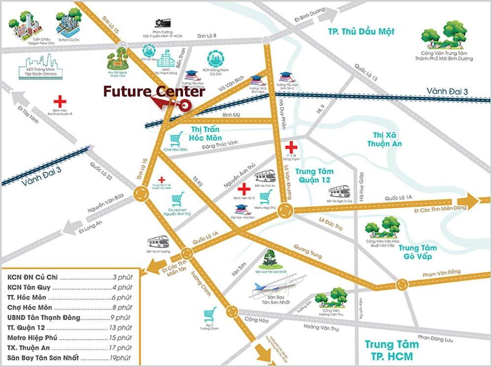 vị trí Future Center