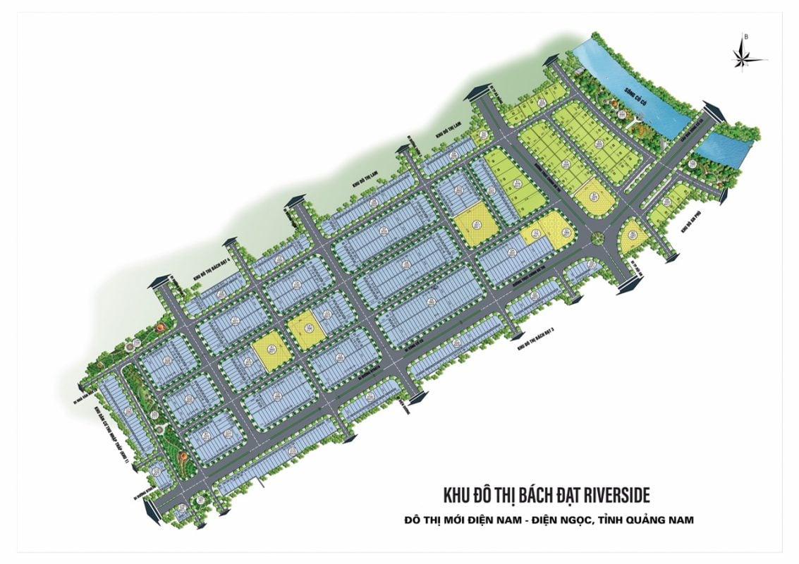 sơ đồ dự án Bách Đạt Riverside