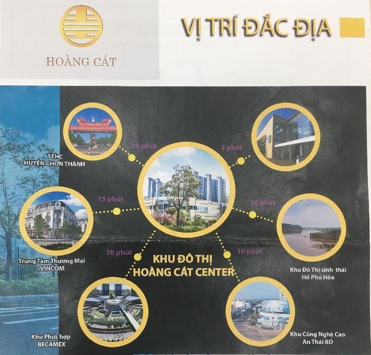 tiện ích Hoàng Cát center