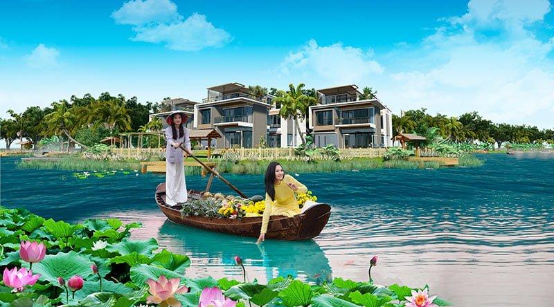 hoa hậu Hương Giang five star eco city