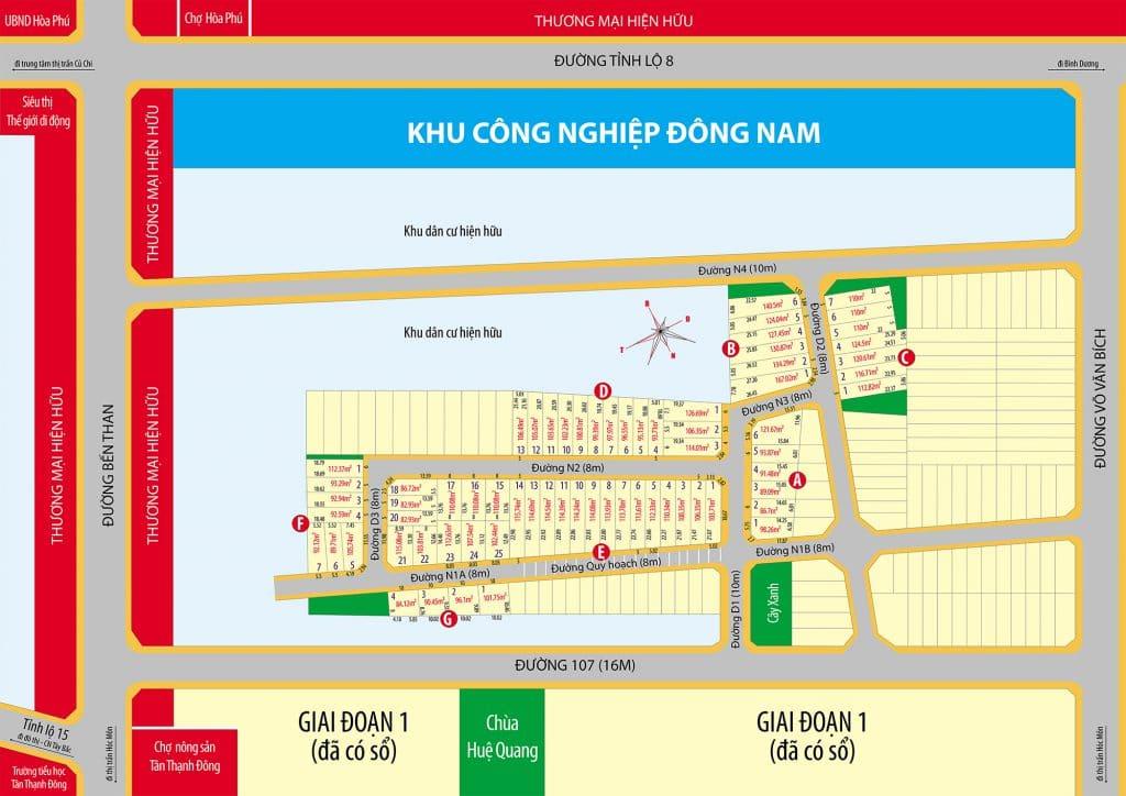 mat bang Golden Valley City Cu Chi