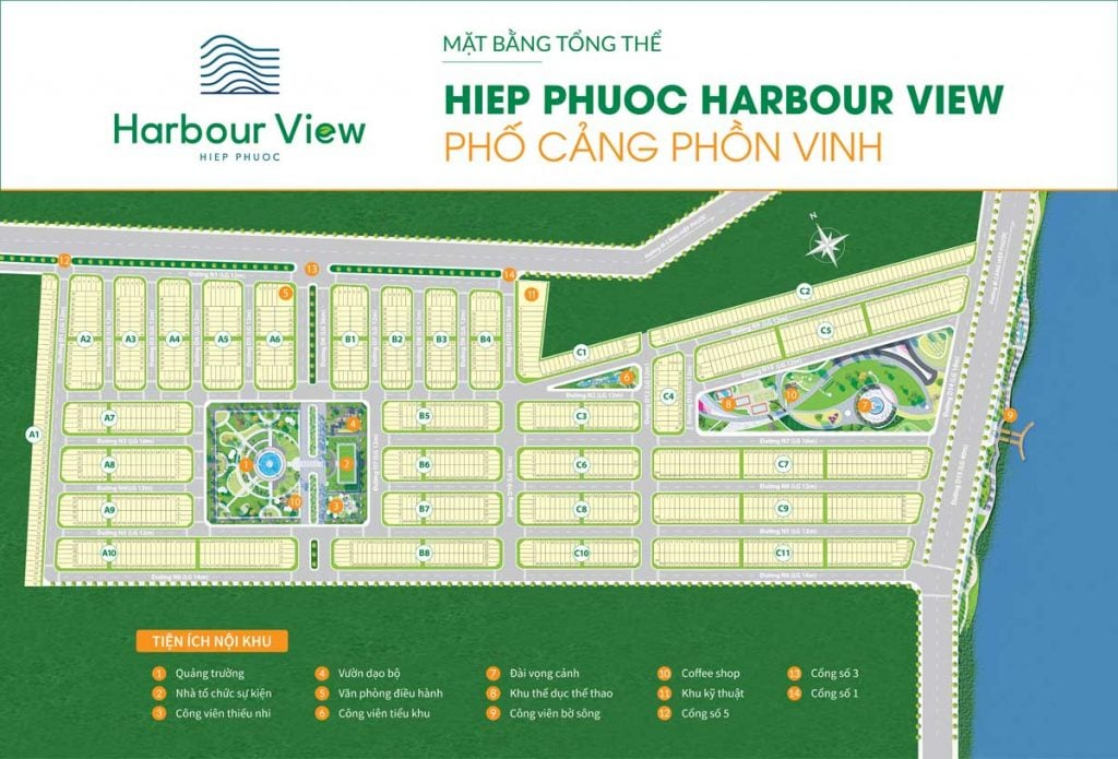 mat bang hiep phuoc harbour view long