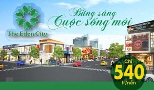 the eden city binh duong banner