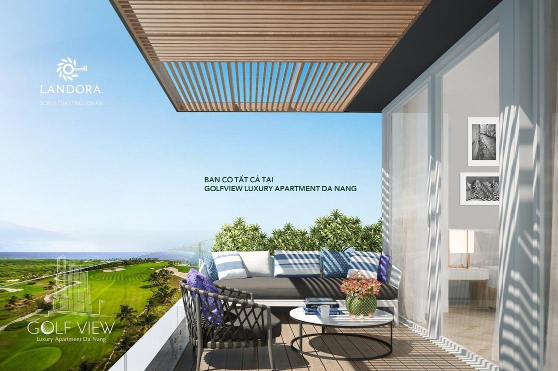 thiet ke du an golf view luxury apartment