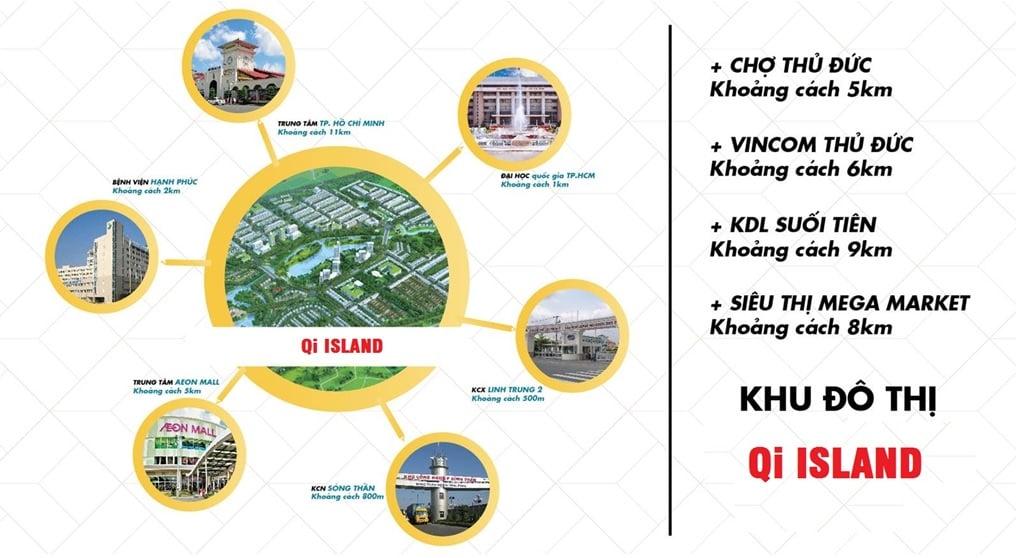 tien ich ngoai khu Qi Island Ngo Chi Quoc
