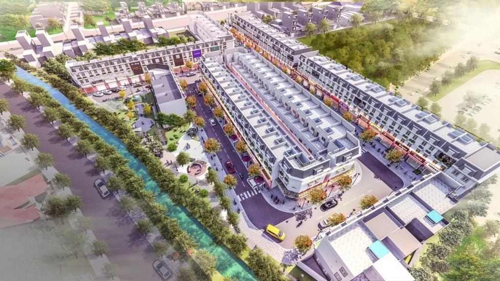 tong the du an dai phat mall town binh duong