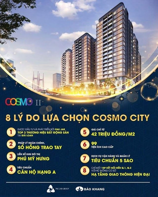 can ho cosmo 2 nguyen thi thap q7