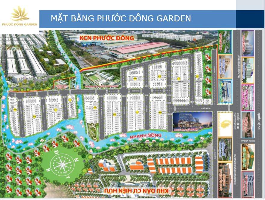 mat bang thiet ke phuoc dong garden