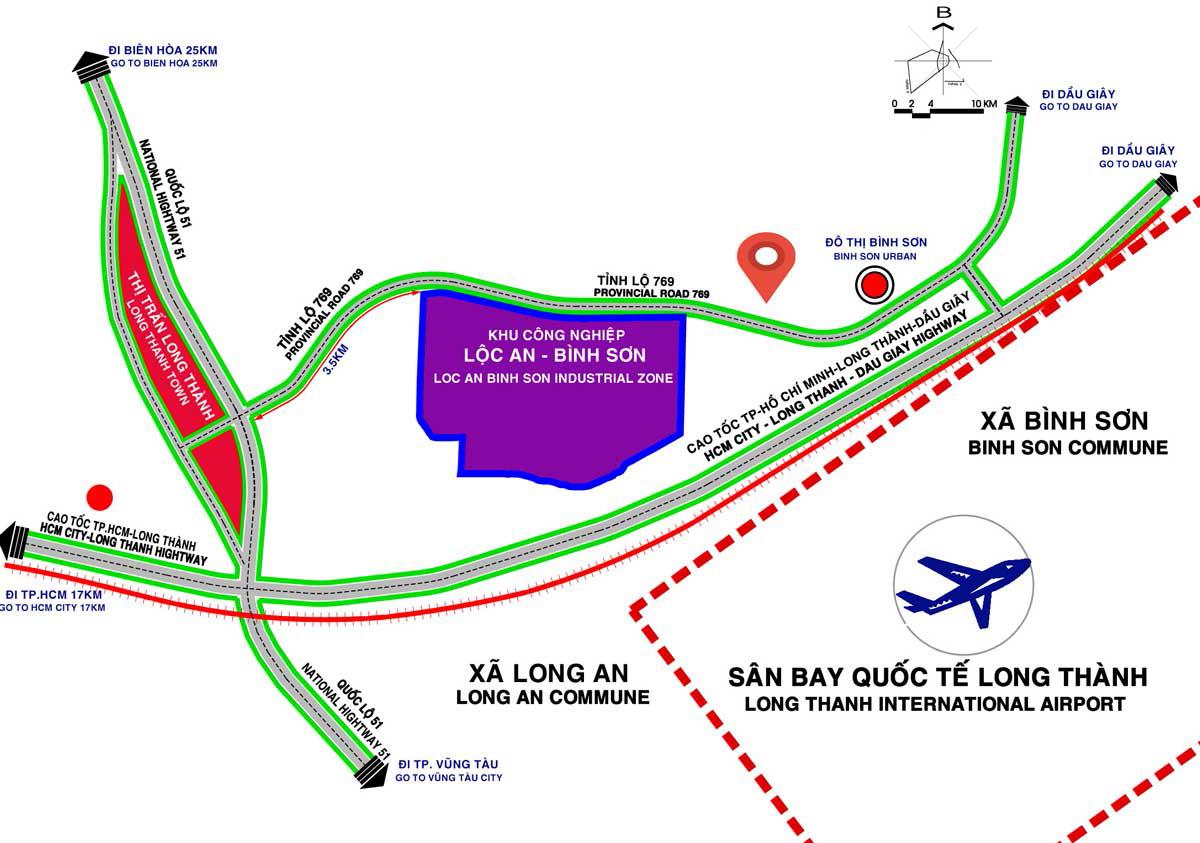 STC Long Thanh gần sân bay Quốc Tế
