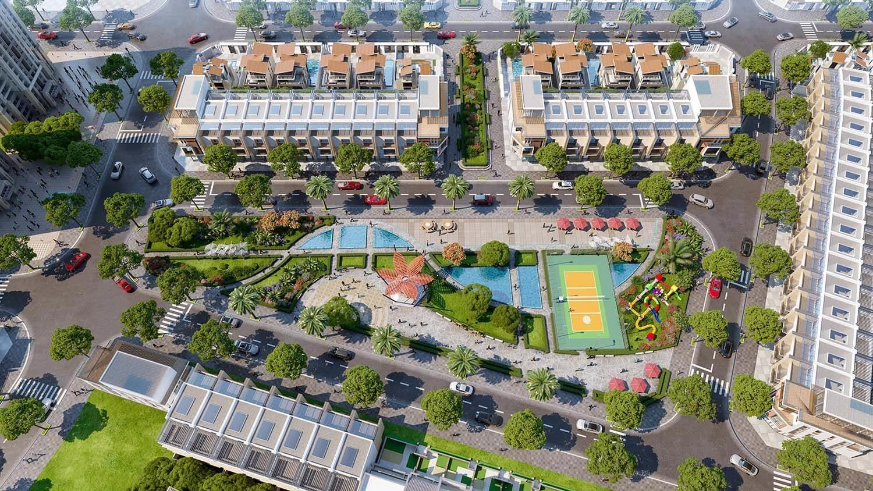 tiện ích nội khu tại Indochina Riverside Complex