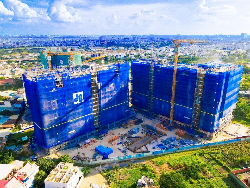 giá dự án bất động sản vẫn tiếp tục tăng