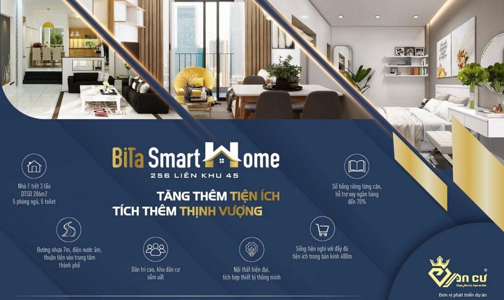 Nhà Phố Bita Smarthome Quận Bình Tân