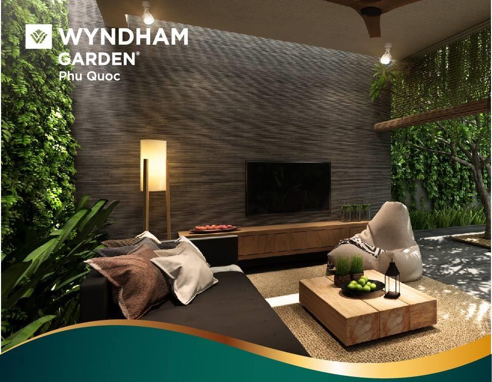phong ngu biet thu Wyndham Garden
