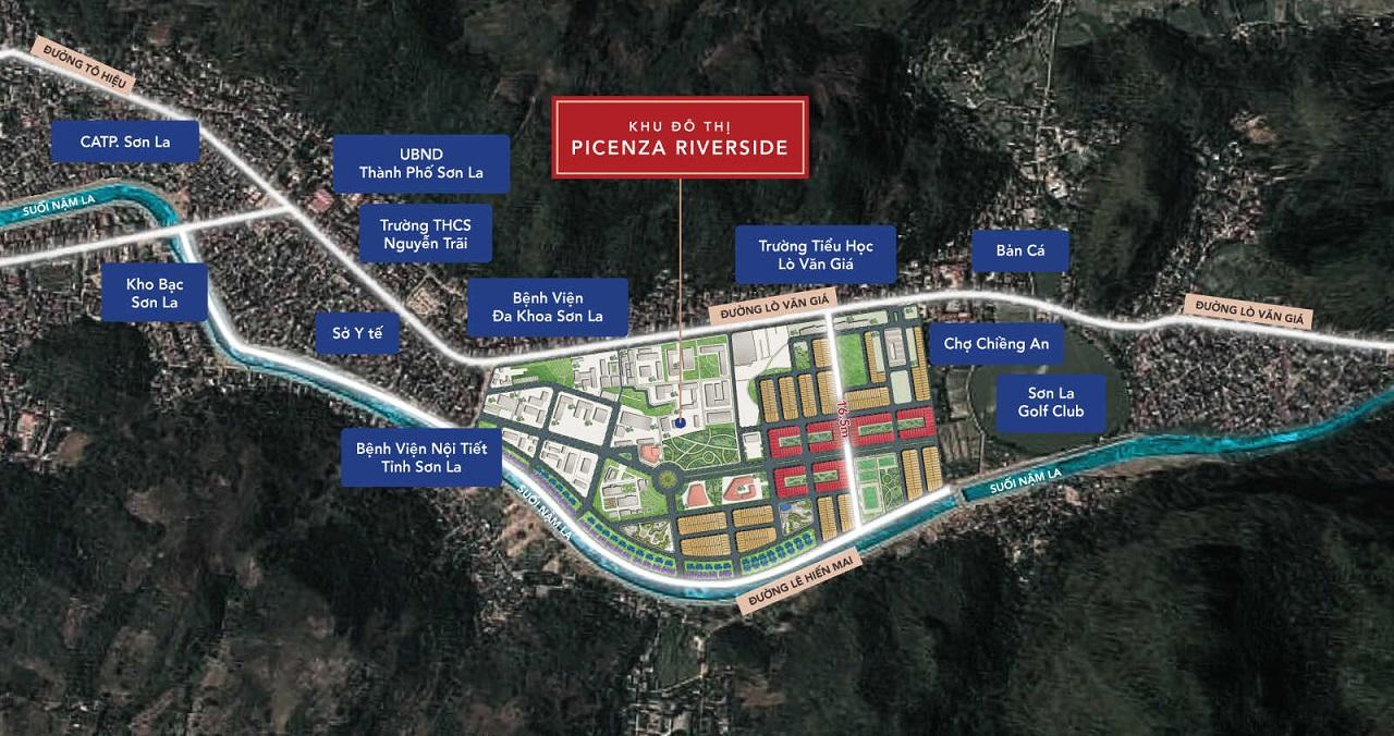 Tiện ích gần Picenza Son La
