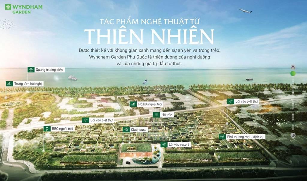 tien ich noi khu biet thu Wyndham Garden Phu Quoc