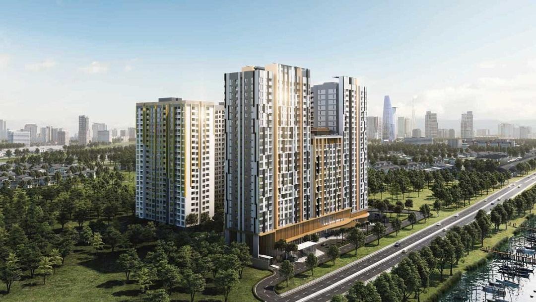 dự án căn hộ của tập đoàn CapitaLand